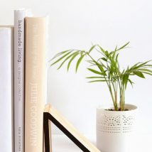 Diy Bookend Ideas 34 214x214 - 35+ Cool DIY Bookend Ideas