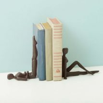 Diy Bookend Ideas 35 214x214 - 35+ Cool DIY Bookend Ideas