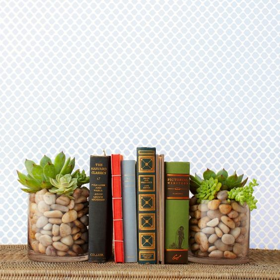Diy Bookend Ideas 42 - 35+ Cool DIY Bookend Ideas