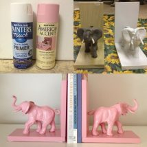 Diy Bookend Ideas 45 214x214 - 35+ Cool DIY Bookend Ideas