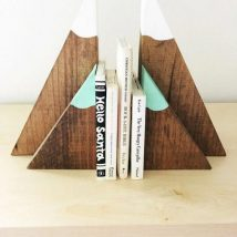 Diy Bookend Ideas 49 214x214 - 35+ Cool DIY Bookend Ideas