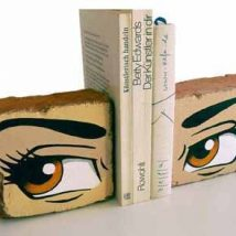 Diy Bookend Ideas 50 214x214 - 35+ Cool DIY Bookend Ideas