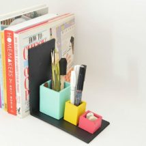 Diy Bookend Ideas 51 214x214 - 35+ Cool DIY Bookend Ideas