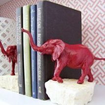 Diy Bookend Ideas 53 214x214 - 35+ Cool DIY Bookend Ideas