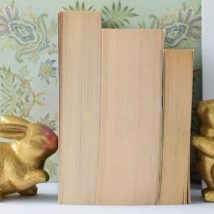 Diy Bookend Ideas 8 214x214 - 35+ Cool DIY Bookend Ideas