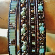 Diy Bracelets 47 214x214 - Coolest DIY Bracelets Ideas for everyone