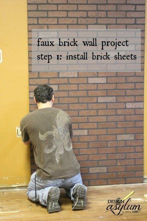 Diy Brick Walls 1 - Amazing DIY Brick Walls Ideas