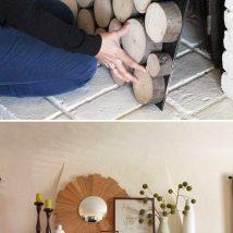 Diy Brick Walls 12 214x214 - Amazing DIY Brick Walls Ideas