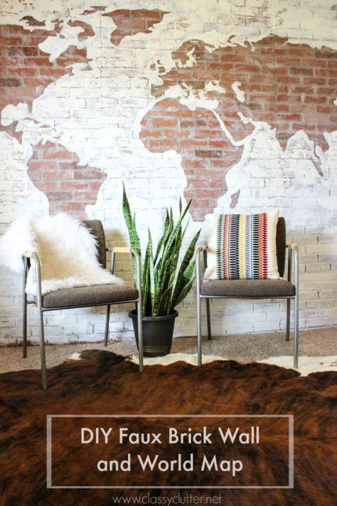 Diy Brick Walls 27 - Amazing DIY Brick Walls Ideas