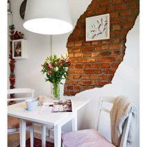 Diy Brick Walls 28 214x214 - Amazing DIY Brick Walls Ideas