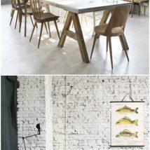 Diy Brick Walls 30 214x214 - Amazing DIY Brick Walls Ideas