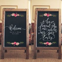 Diy Chalkboards 19 214x214 - 40+ DIY Chalkboard Ideas For Decor