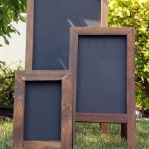 Diy Chalkboards 20 214x214 - 40+ DIY Chalkboard Ideas For Decor