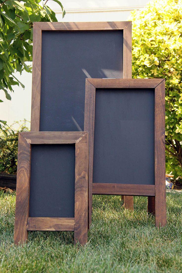 Diy Chalkboards 20 - 40+ DIY Chalkboard Ideas For Decor