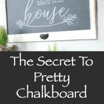 40+ DIY Chalkboard Ideas For Decor