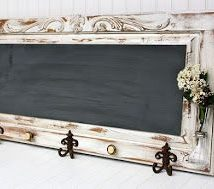 Diy Chalkboards 38 214x189 - 40+ DIY Chalkboard Ideas For Decor