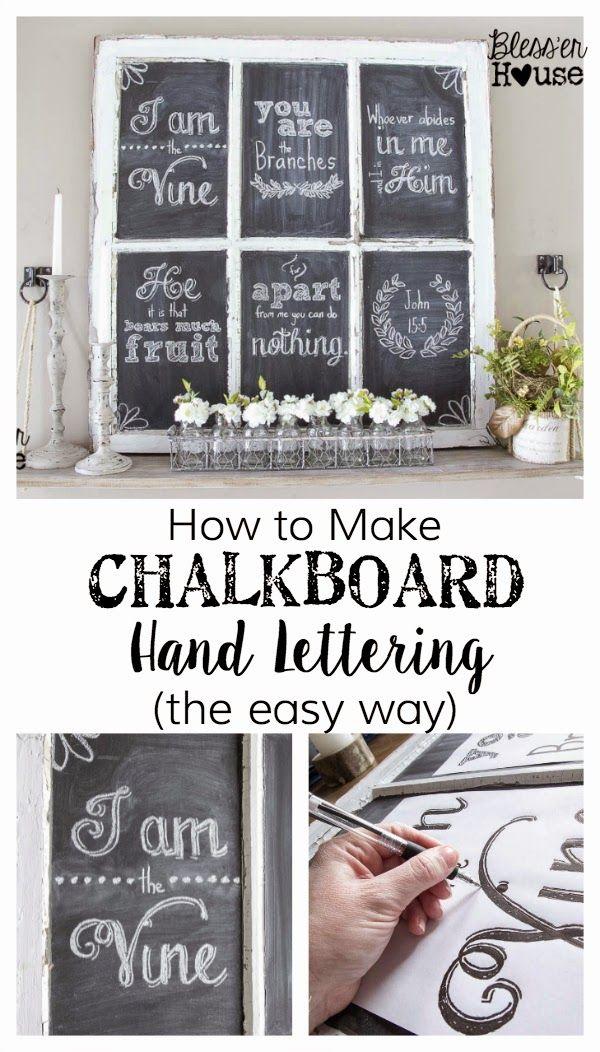 Diy Chalkboards 4 - 40+ DIY Chalkboard Ideas For Decor