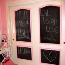 Diy Chalkboards 41 214x214 - 40+ DIY Chalkboard Ideas For Decor