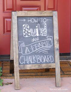 Diy Chalkboards 5 - 40+ DIY Chalkboard Ideas For Decor