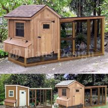 Diy Chicken Coops 15 214x214 - Coolest DIY Chicken Coop Ideas for Your Birds