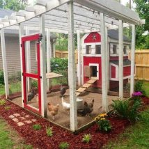 Diy Chicken Coops 18 214x214 - Coolest DIY Chicken Coop Ideas for Your Birds