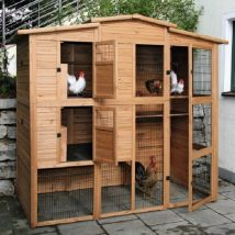 Diy Chicken Coops 31 214x214 - Coolest DIY Chicken Coop Ideas for Your Birds