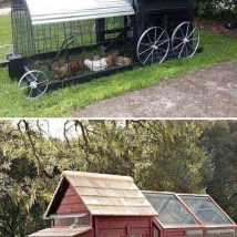 Diy Chicken Coops 32 214x214 - Coolest DIY Chicken Coop Ideas for Your Birds