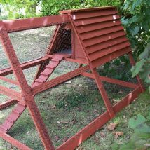 Diy Chicken Coops 43 214x214 - Coolest DIY Chicken Coop Ideas for Your Birds