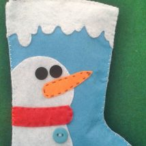 Diy Christmas Stockings 13 214x214 - Perfect DIY Christmas Stockings Ideas