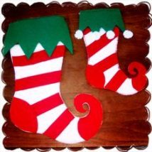 Diy Christmas Stockings 14 214x214 - Perfect DIY Christmas Stockings Ideas