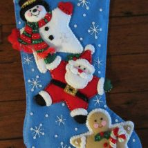 Diy Christmas Stockings 16 214x214 - Perfect DIY Christmas Stockings Ideas