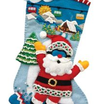 Diy Christmas Stockings 17 214x214 - Perfect DIY Christmas Stockings Ideas