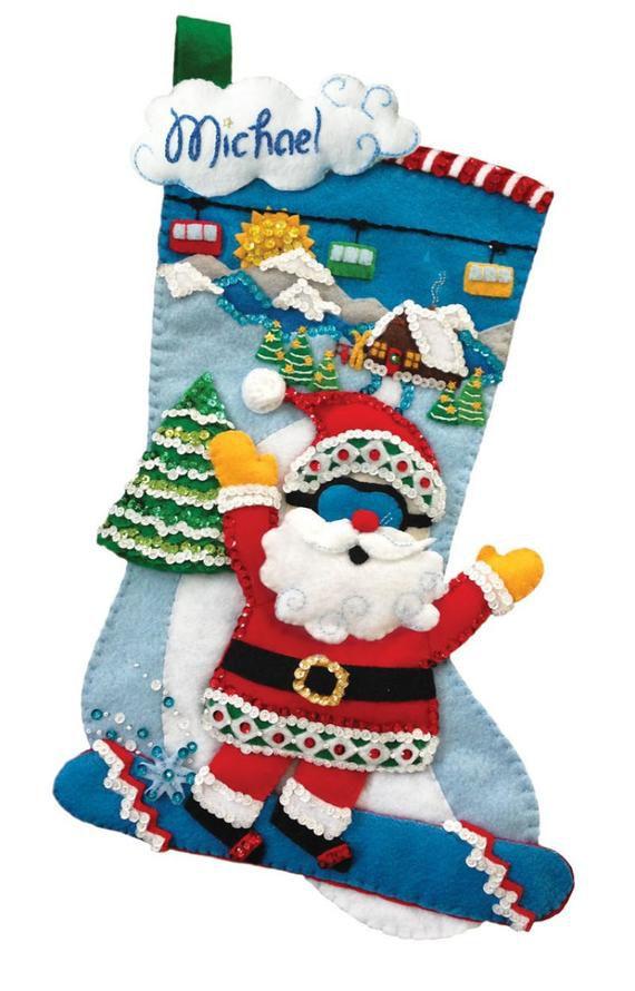 Diy Christmas Stockings 17 - Perfect DIY Christmas Stockings Ideas