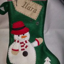Diy Christmas Stockings 19 214x214 - Perfect DIY Christmas Stockings Ideas