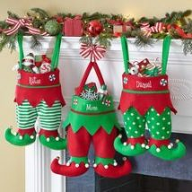 Diy Christmas Stockings 23 214x214 - Perfect DIY Christmas Stockings Ideas