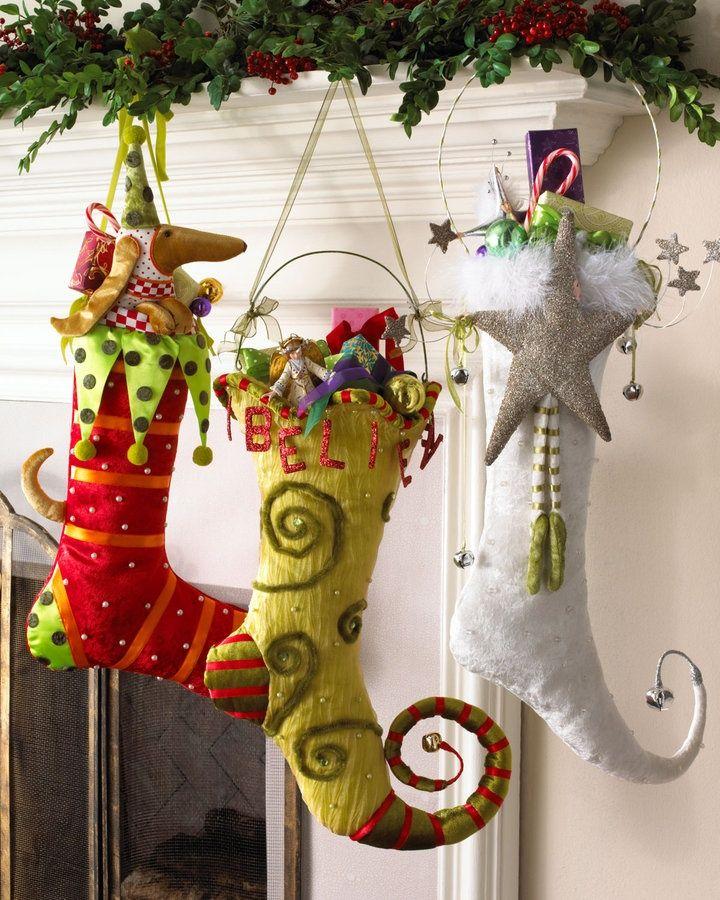 Diy Christmas Stockings 25 - Perfect DIY Christmas Stockings Ideas