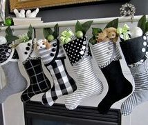 Diy Christmas Stockings 27 214x181 - Perfect DIY Christmas Stockings Ideas