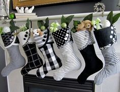 Diy Christmas Stockings 27 - Perfect DIY Christmas Stockings Ideas