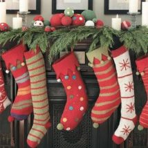 Diy Christmas Stockings 28 214x214 - Perfect DIY Christmas Stockings Ideas