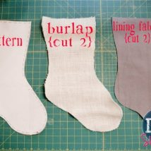 Diy Christmas Stockings 3 214x214 - Perfect DIY Christmas Stockings Ideas
