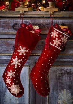 Diy Christmas Stockings 30 - Perfect DIY Christmas Stockings Ideas