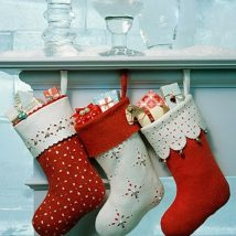 Diy Christmas Stockings 32 214x214 - Perfect DIY Christmas Stockings Ideas