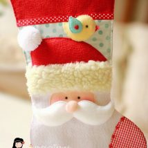 Diy Christmas Stockings 36 214x214 - Perfect DIY Christmas Stockings Ideas