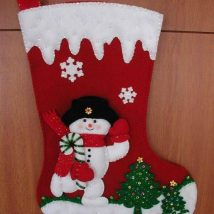 Diy Christmas Stockings 37 214x214 - Perfect DIY Christmas Stockings Ideas