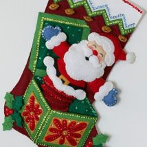 Diy Christmas Stockings 38 214x214 - Perfect DIY Christmas Stockings Ideas