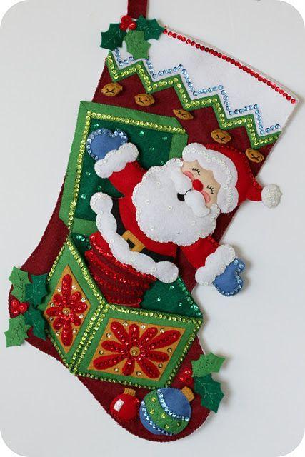 Diy Christmas Stockings 38 - Perfect DIY Christmas Stockings Ideas