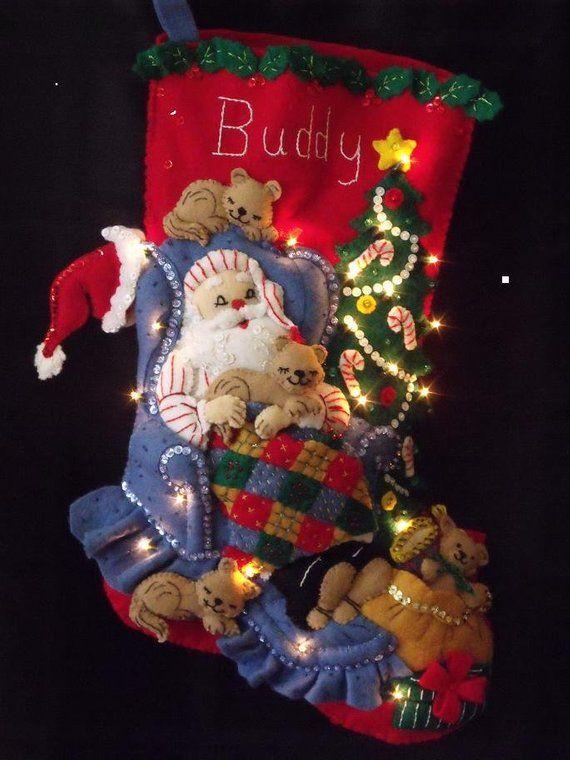 Diy Christmas Stockings 41 - Perfect DIY Christmas Stockings Ideas