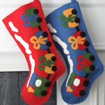 Diy Christmas Stockings 42 214x214 - Perfect DIY Christmas Stockings Ideas