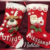 Diy Christmas Stockings 44 214x214 - Perfect DIY Christmas Stockings Ideas