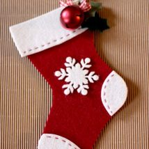 Diy Christmas Stockings 45 214x214 - Perfect DIY Christmas Stockings Ideas